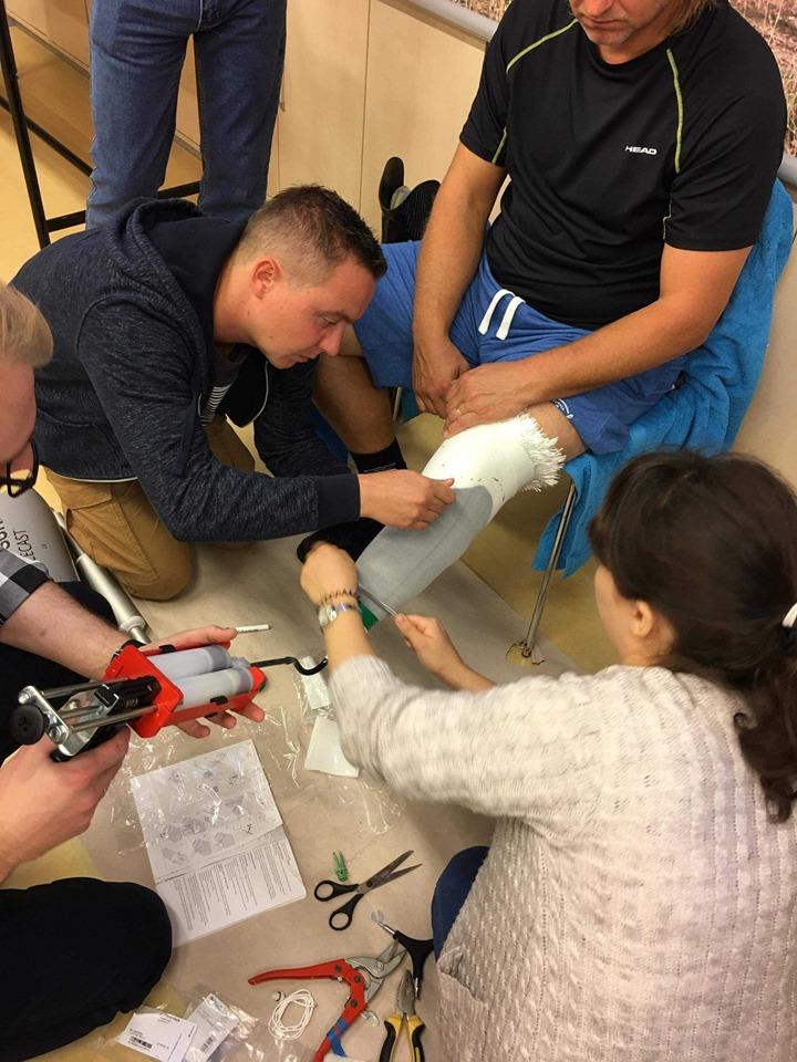 Szkolenie 'Proteza nogi i ręki z zastosowaniem innowacji procesowych' Össur Academy